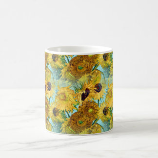 Vase With Twelve Sunflowers By Vincent Van Gogh Coffee Mugs