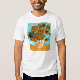 Vase with Twelve Sunflowers by Vincent van Gogh Shirt