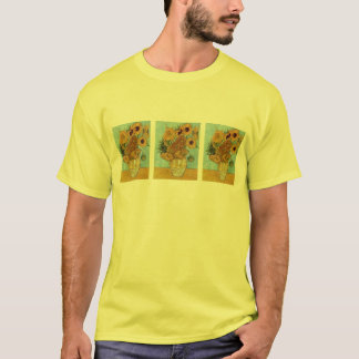 Vase with Twelve Sunflowers by Vincent Van Gogh T-Shirt