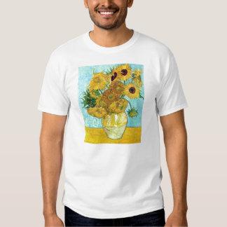 Vase With Twelve Sunflowers By Vincent Van Gogh Tee Shirt