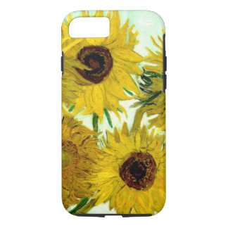 Vase with Twelve Sunflowers, Van Gogh Fine Art iPhone 7 Case
