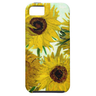 Vase with Twelve Sunflowers, Van Gogh Fine Art iPhone SE/5/5s Case