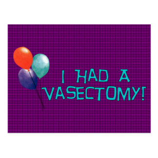Vasectomy Post Cards