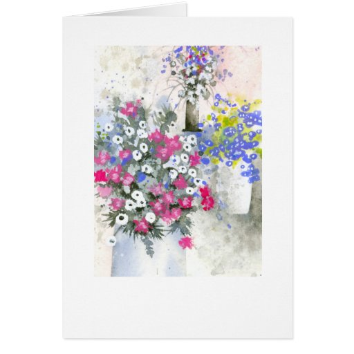 Vases japanese greeting cards zazzle