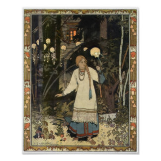 Vasilisa - Return from Baba Yaga's Hut Poster