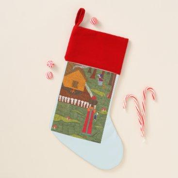 Vasilisa the Beautiful Christmas Stocking