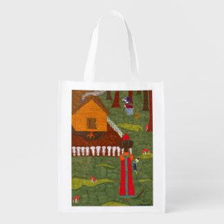 Vasilisa the Beautiful Grocery Bag