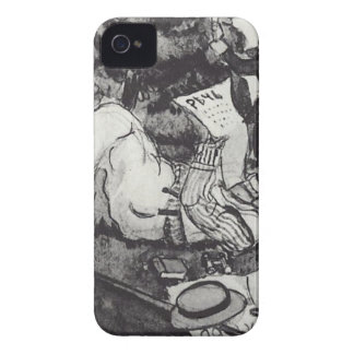 Vasiliy Luzhsky on vacation in London's Hyde Park iPhone 4 Cover