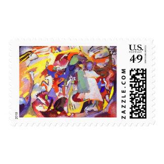 Vasily Kandinsky - All Saints Postage