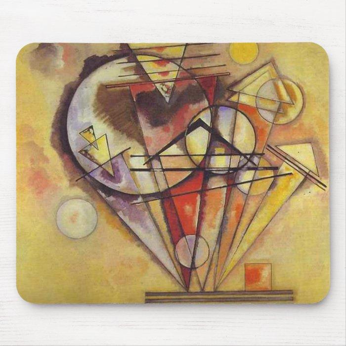 Vasily Kandinsky - On Points Mouse Pad