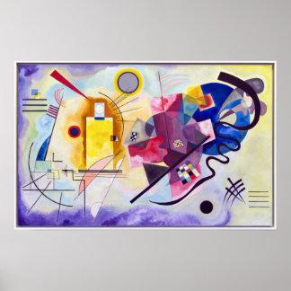 Vasily Kandinsky Yellow-Red-Blue Poster
