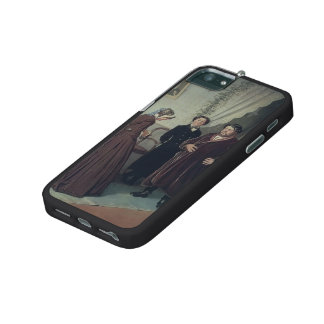 Vasily Perov- Arrival of Governess in a House iPhone 5/5S Covers