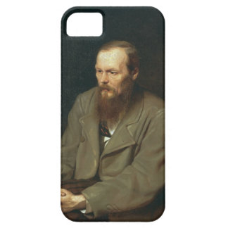 Vasily Perov-Portrait of Author Feodor Dostoyevsky iPhone 5 Covers