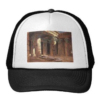 Vasily Polenov-The Temple of Isis on Philae island Mesh Hat