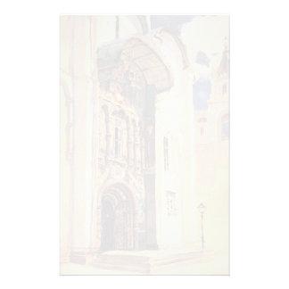Vasily Polenov- Uspensky Cathedral. South Gates. Stationery