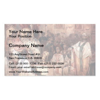 Vasily Surikov- Fourth Council of Chalcedon Business Card