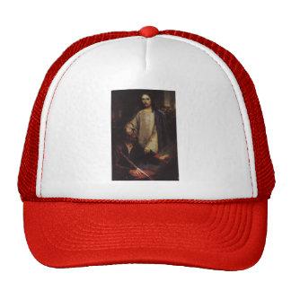 Vasily Surikov- Healing the blind by Jesus Christ Trucker Hats