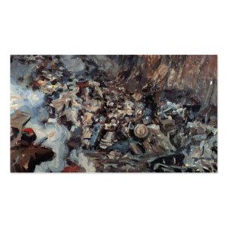 Vasily Surikov: La conquista de Siberia por Yermak Plantillas De Tarjeta De Negocio