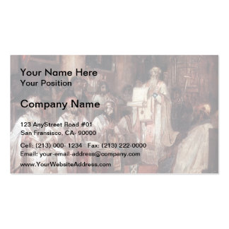 Vasily Surikov- Second Ecumenical Council Business Card Template
