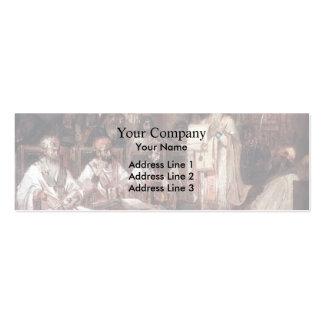 Vasily Surikov- Second Ecumenical Council Business Card