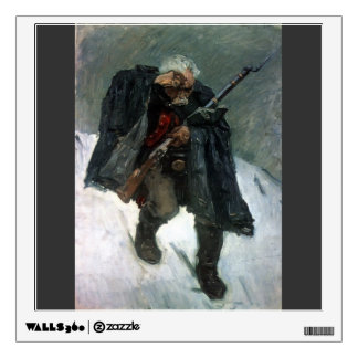 Vasily Surikov-Soldier descending from mountain Room Graphics