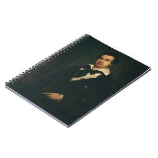 Vasily Tropinin-Portrait of Actor V. A. Karatyghin Spiral Notebook