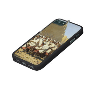 Vasily Vereshchagin- At the Fortress Walls iPhone 5/5S Cover