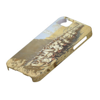 Vasily Vereshchagin- At the Fortress Walls iPhone 5 Cases