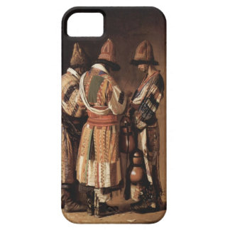 Vasily Vereshchagin- Dervishes in holiday costumes iPhone 5 Covers