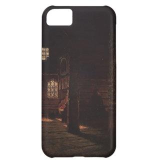 Vasily Vereshchagin- Interior of the Wooden Church iPhone 5C Cover