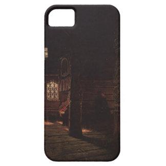 Vasily Vereshchagin- Interior of the Wooden Church iPhone 5 Cover