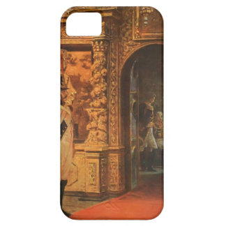 Vasily Vereshchagin-Marshal Davout,Chudovo Convent iPhone 5 Case