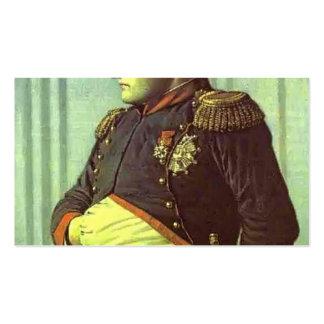 Vasily Vereshchagin-Napoleon en el palacio de Petr Tarjeta De Visita