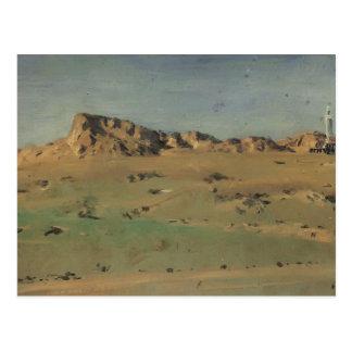 Vasily Vereshchagin-Turkish Redoubt but Abandoned Postcard