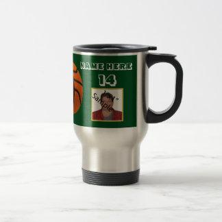Vaso blanco personalizado de la foto del taza térmica