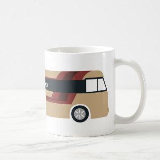 vaso de autocar taza de café