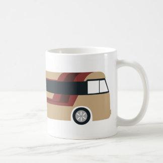 vaso de autocar tazas de café