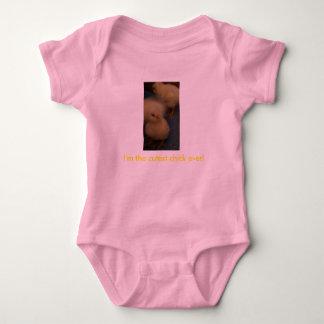 Vaso del polluelo del bebé del chica body para bebé