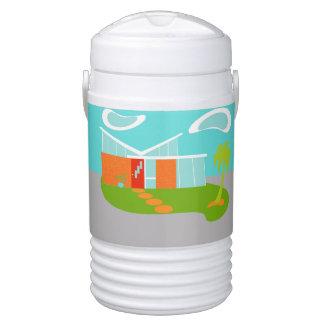 Vaso refrigerador moderno del iglú del dibujo vaso enfriador igloo