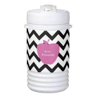 Vaso refrigerador negro rosado del profesor de vaso enfriador igloo