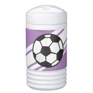 Vaso refrigerador personalizado púrpura del iglú enfriador de bebida igloo