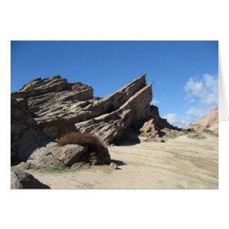 Vasquez Rocks Card