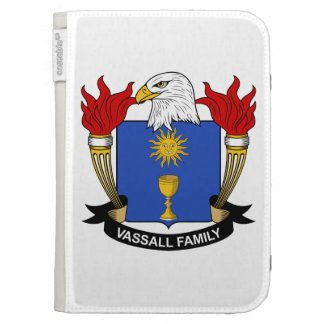 Vassall Family Crest Kindle Keyboard Case