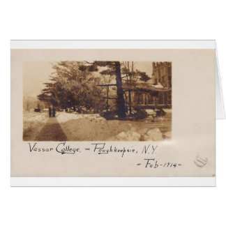 Vassar College, February 1914 Card