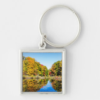 Vassar Farms Pond Keychain
