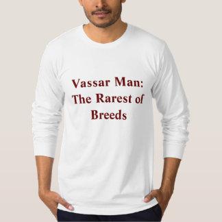 Vassar Man:The Rarest of Breeds Tees