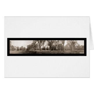 Vassar Panoramic Photo 1912 Card