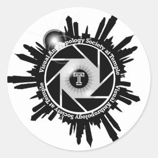 VAST 2012 B W Sticker