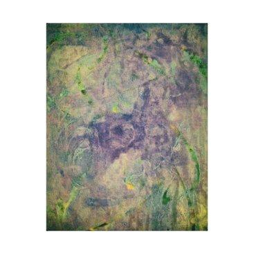 "Art Themed ""Vast Abyss"" Original Abstract Print"