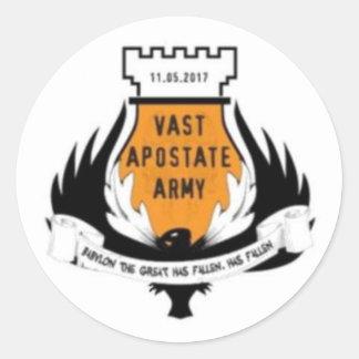 Vast Apostate Army Sticker